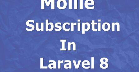mollie subscription