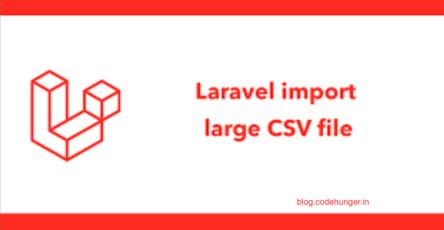 upload csv with laravel queue